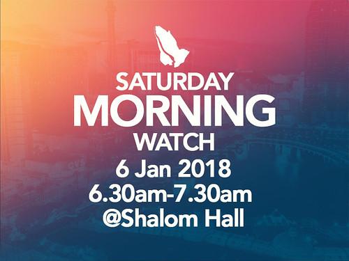 satmorning watch 2018