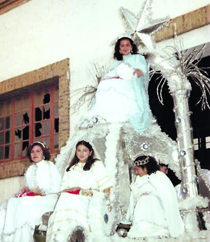 Carroza de la Estrella de la Ilusión, en la cabalgata de 1980. Página web de la Asociación 'Estrella de la Ilusión'.