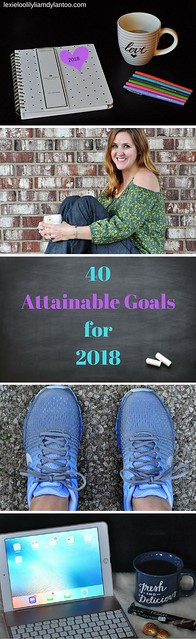 40 Attainable Goals for 2018