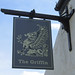 English Pub Sign - The Griffin, St Helens