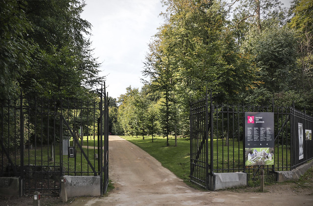 Gaasbeek Castle Entrance to the Park
