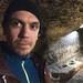 Me in caves in Nottingham Ghost Walk