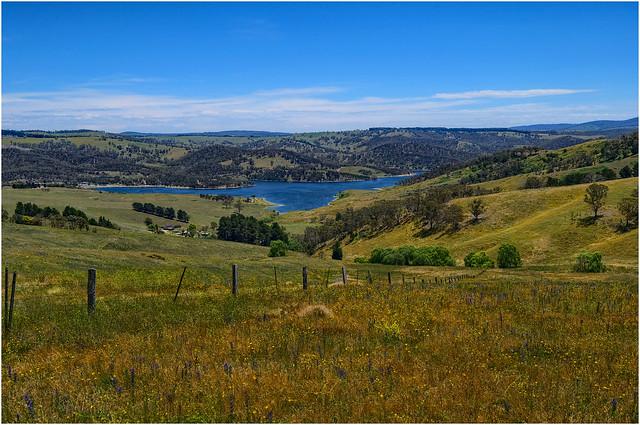 Lyell Dam, Bathurst Region, Central Tablelands, NSW, Australia