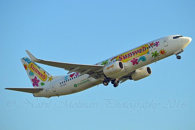 Transavia PH-HSD Boeing 737-8K2 Winglets cn/39260-3581 Painted in
