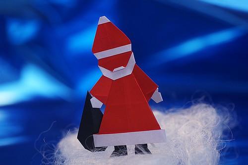Origami Santa (Serge Afonkin)