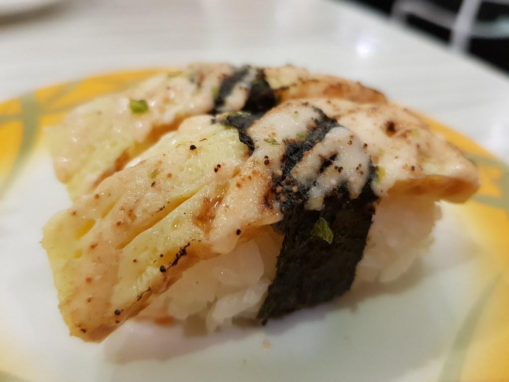 明太蛋 Tamago Mentai $2.80 @ Sushi Mentai USJ9