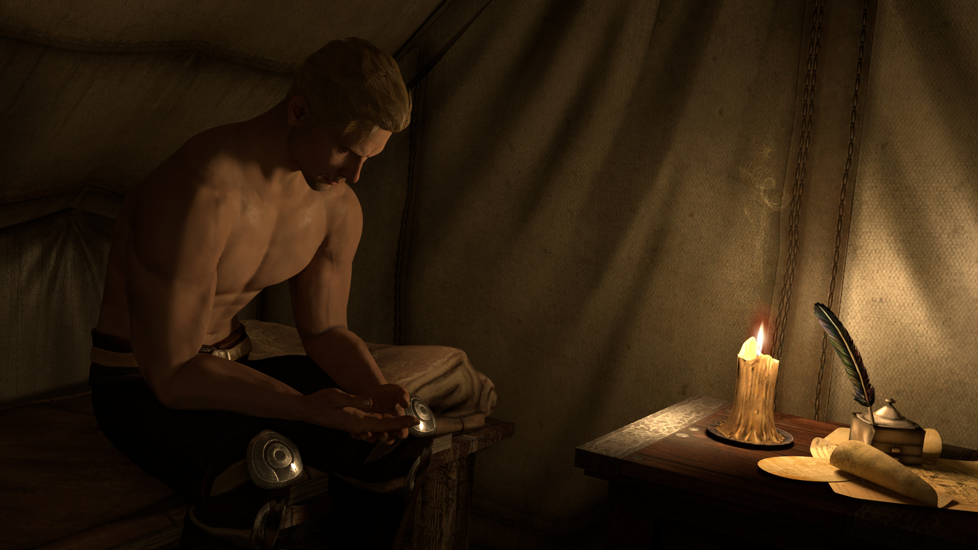 Chapter 17 shirtless Cullen