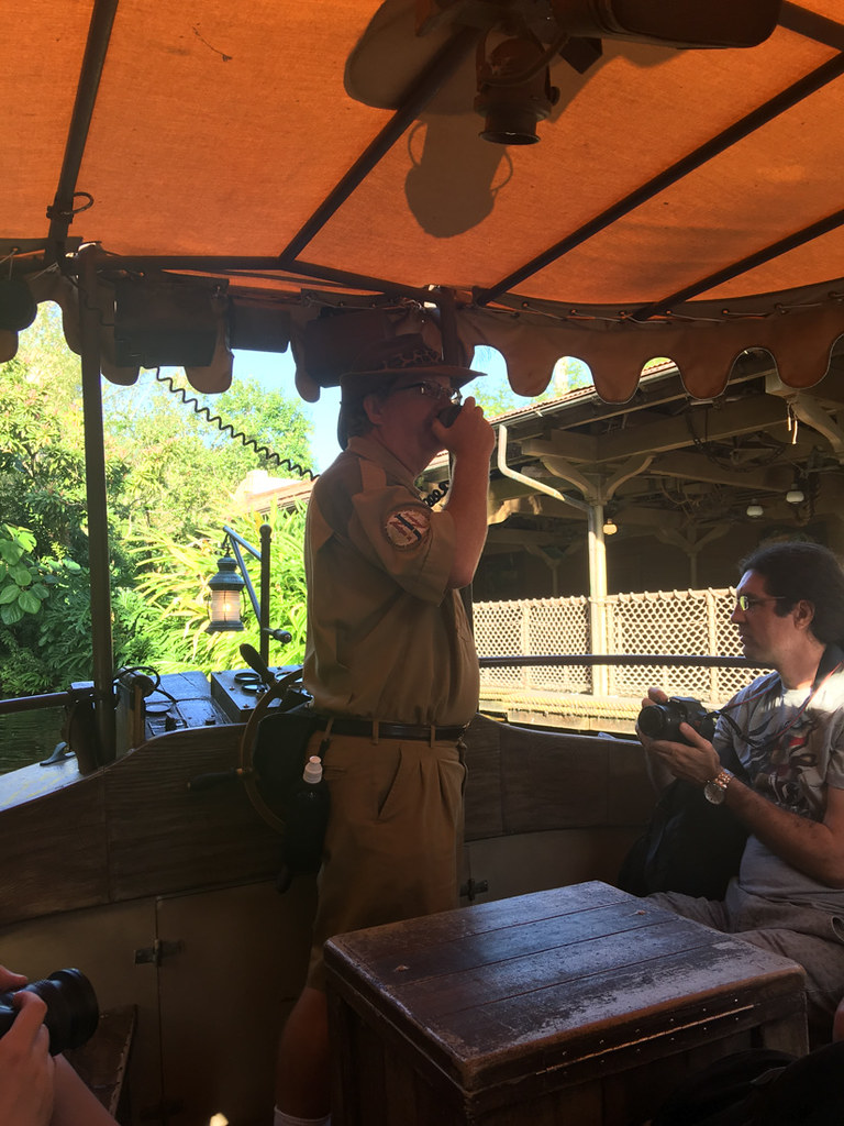 The Jungle Cruise at Magic Kingdom