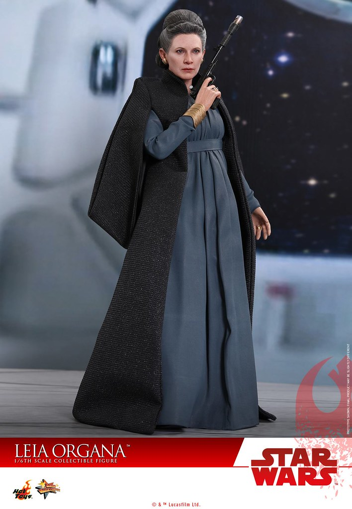 Hot Toys - MMS459 -《STAR WARS:最後的絕地武士》莉亞·歐嘉納 Star Wars: The Last Jedi Leia Organa 1/6 比例可動人偶作品