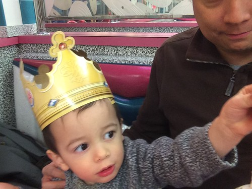 Ezra at Burger King