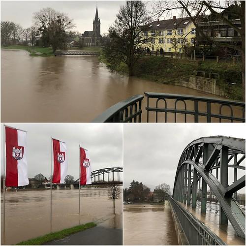 Hochwasser in Rinteln