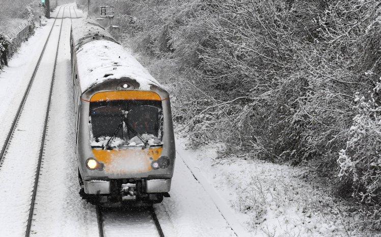 BRITAIN WEATHER SNOW