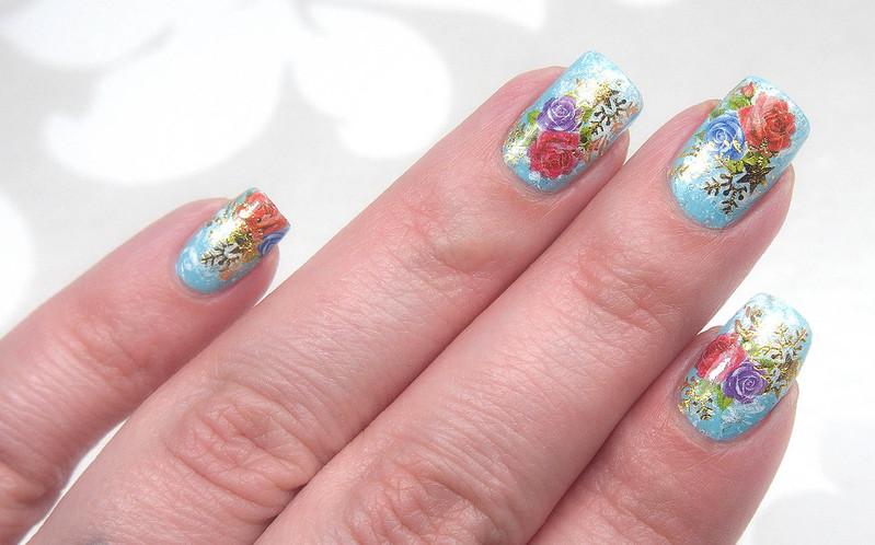 Water decals_nail art_kynsien koristelu