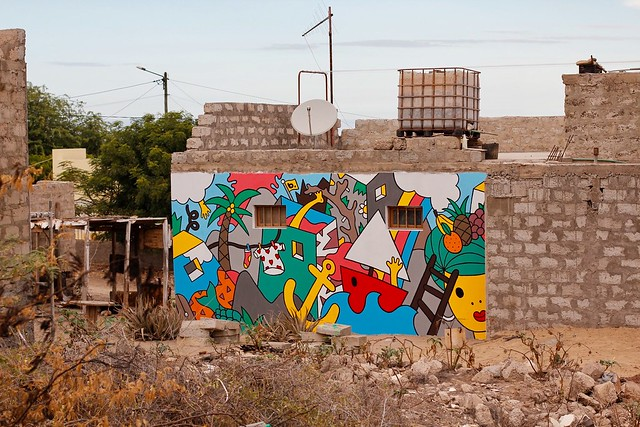 The murals of S-FEST in Cape Verde