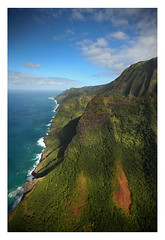 Na Pali Coast of Kaua'i, Hawai'i
