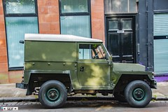 LAND ROVER 88 4 CYL LIGHTWEIGHT Glasgow Scotland 2017