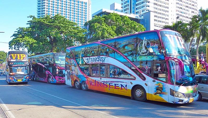 Amazing Bangkok busses