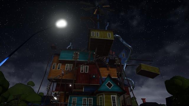 Hola vecino: la gran casa espeluznante