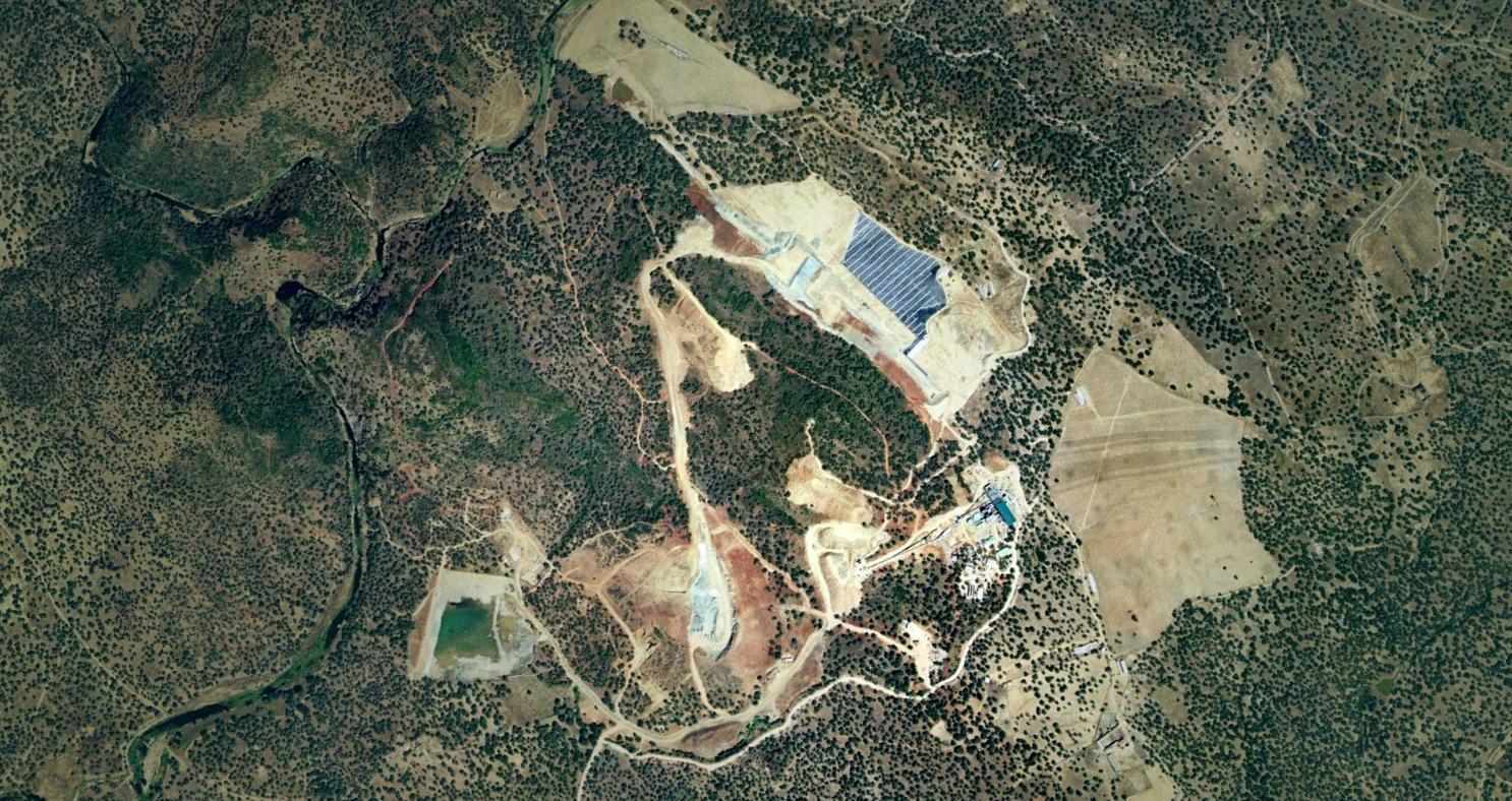 mina aguablanca, badajoz, niquelao, antes, urbanismo, planeamiento, urbano, desastre, urbanístico, construcción