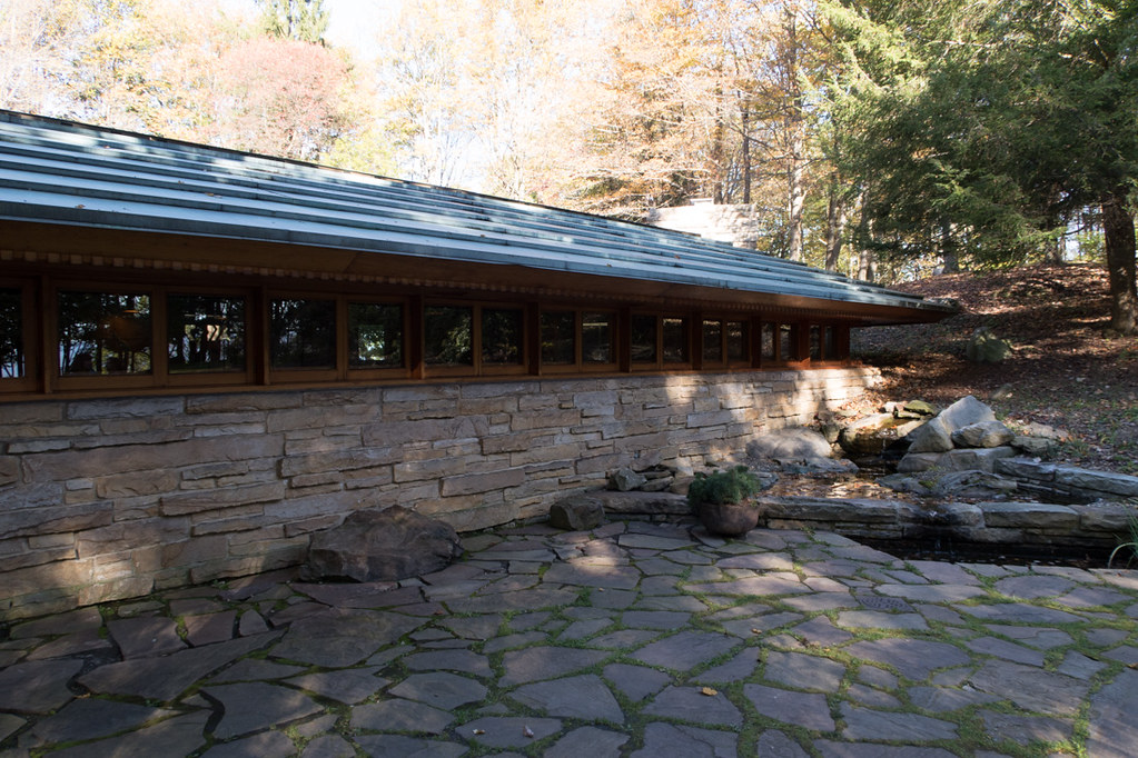 Rear of Kentuck Knob