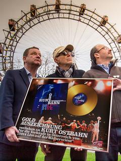 Go for Gold... Erich Schindlecker, Dr. Kurt Ostbahn, Georg Hoanzl!