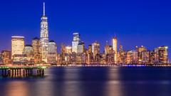 Happy New Year - Downtown NYC Skyline