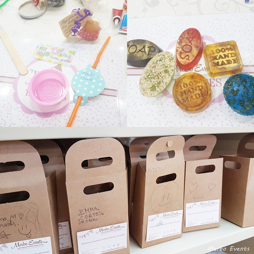 cumple taller jabones artesanales Merbo Events