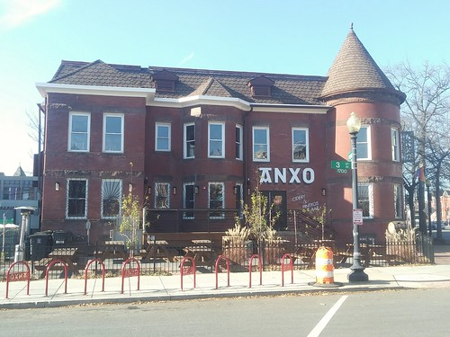 The Anxo cidery has installed custom bicycle racks