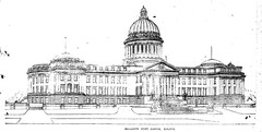 "Rendering of Mississippi's ""New"" Capitol Building"