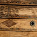 Wooden Hull with Diamond Patch