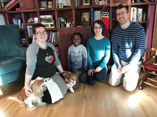 Hendricks Family, Christmas 2017