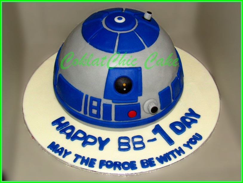 Cake R2D2 BB-1 15cm