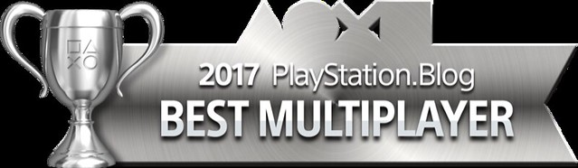 PlayStation Blog Game of the Year 2017 - Best Multiplayer (Silver)