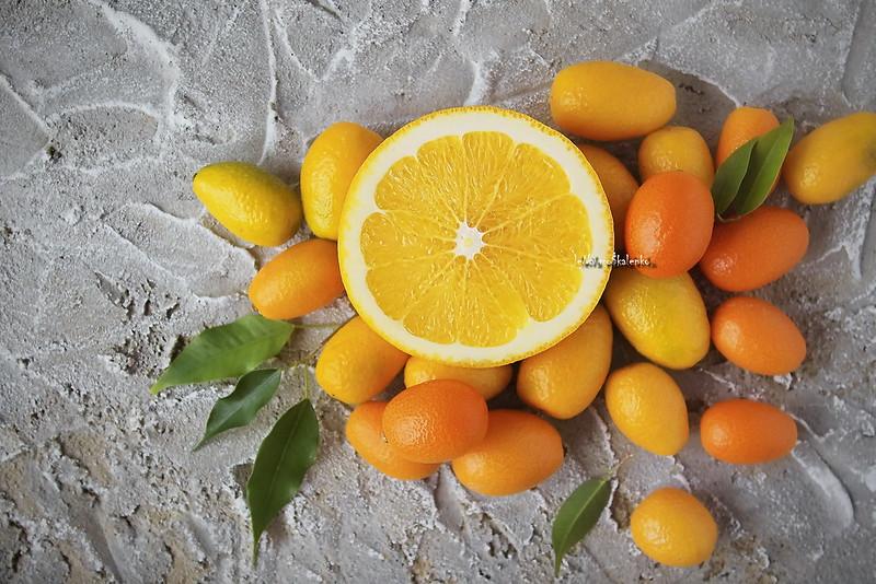 ... sun is orange and kumquat