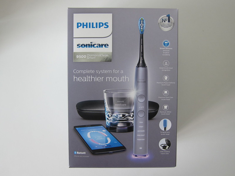 Philips Sonicare DiamondClean Smart - Box Front