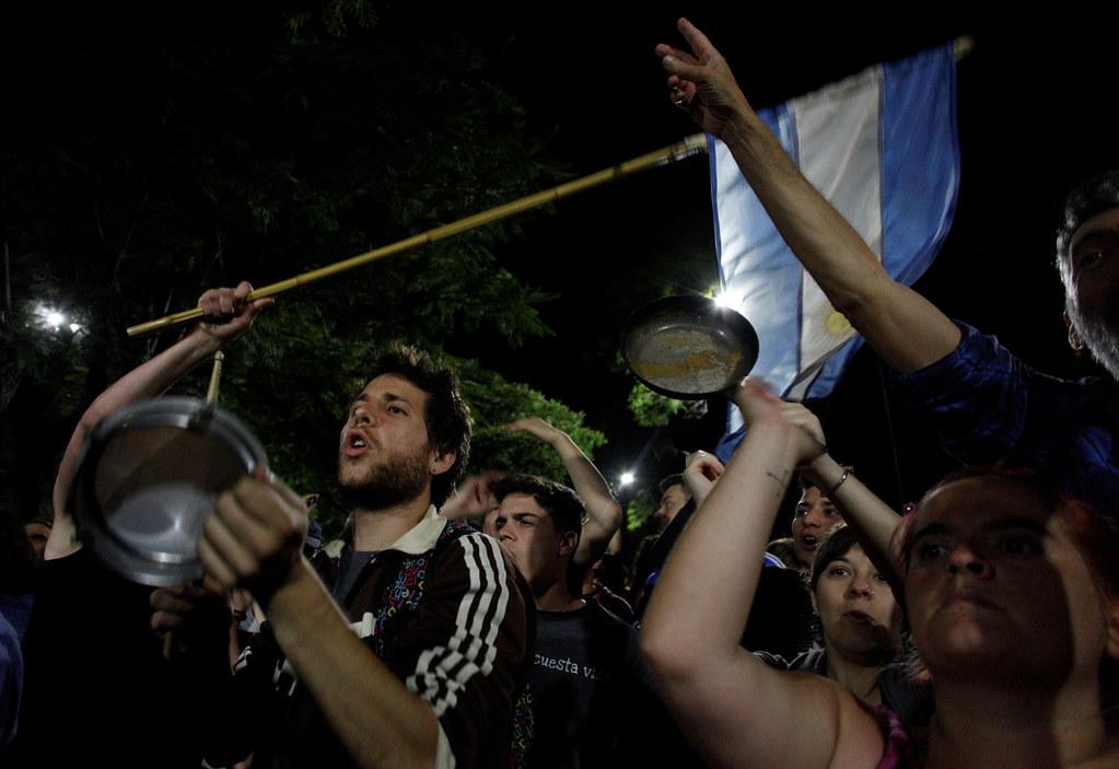 Disturbios en Argentina