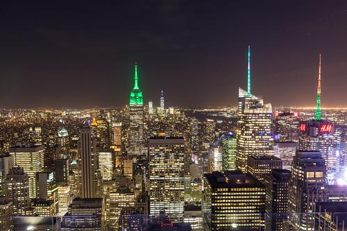New York - Sommet du Rockefeller Center