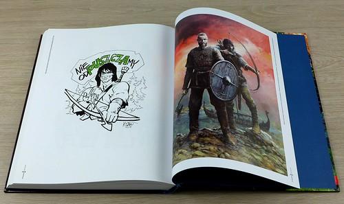 Rosinski Artbook Thorgal 40 lat 08