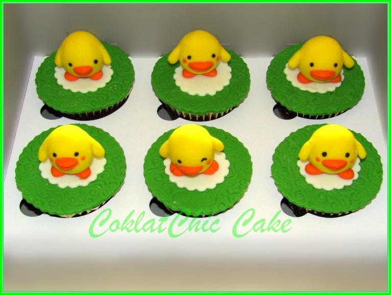 Cupcake little duck