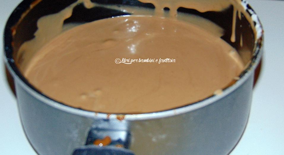 crema al cioccolato al latte