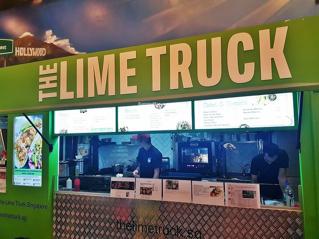 The Lime Truck Facade