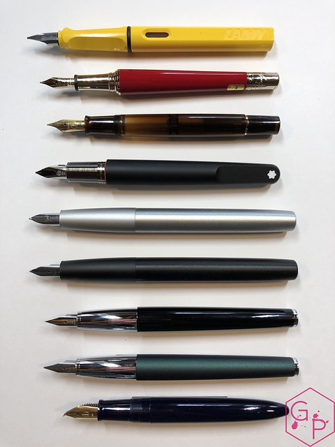 Review Lamy Aion Fountain Pen - Black & Olive Silver @AppelboomLaren 11