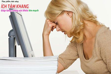 Mệt mỏi là triệu chứng rất điển hình của người bệnh suy tim