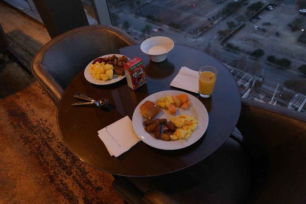 Hilton Americas Executive Lounge 38