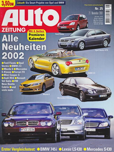Auto Zeitung 25/2001