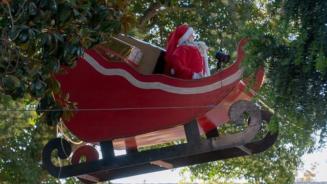 Weihnachtsdeko in San Vicente