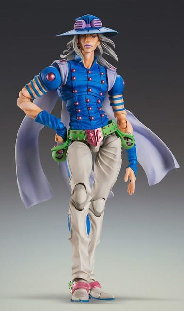 超像可動《JOJO的奇妙冒險》第7部 飆馬野郎「傑洛・齊貝林」二次配色版本!スティール・ボール・ラン『ジャイロ・ツェペリ・セカンド』