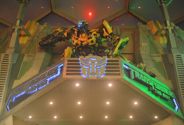 Must-Rides in Universal Studios Singapore transformers