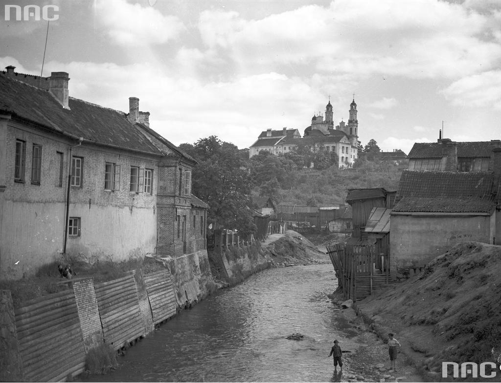 1935. Литва. Вильнюсский уезд. Вильнюс. район Сенаместис