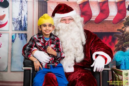 Santa at Teecs-94